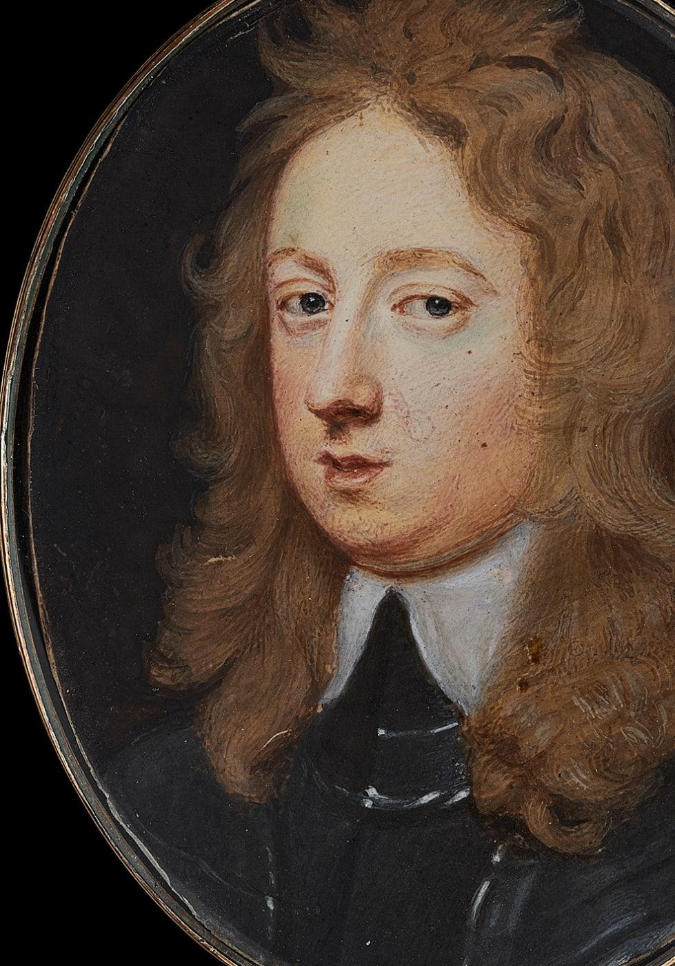 portrait miniature by Samuel cooper