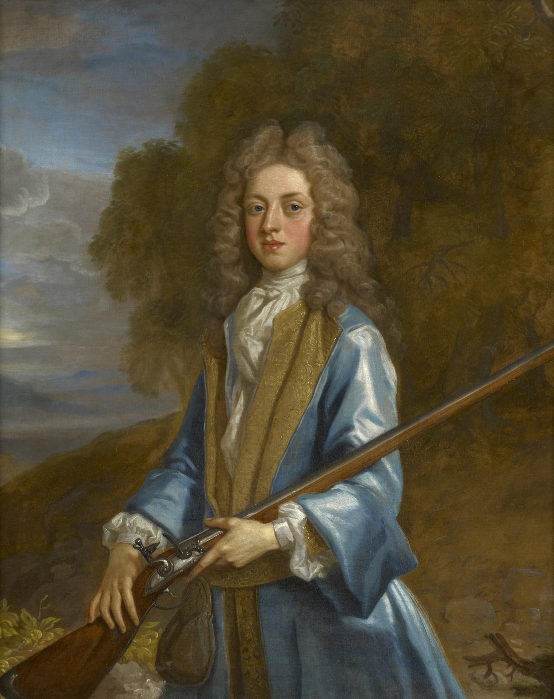 Portrait of a gentleman by John Closterman
