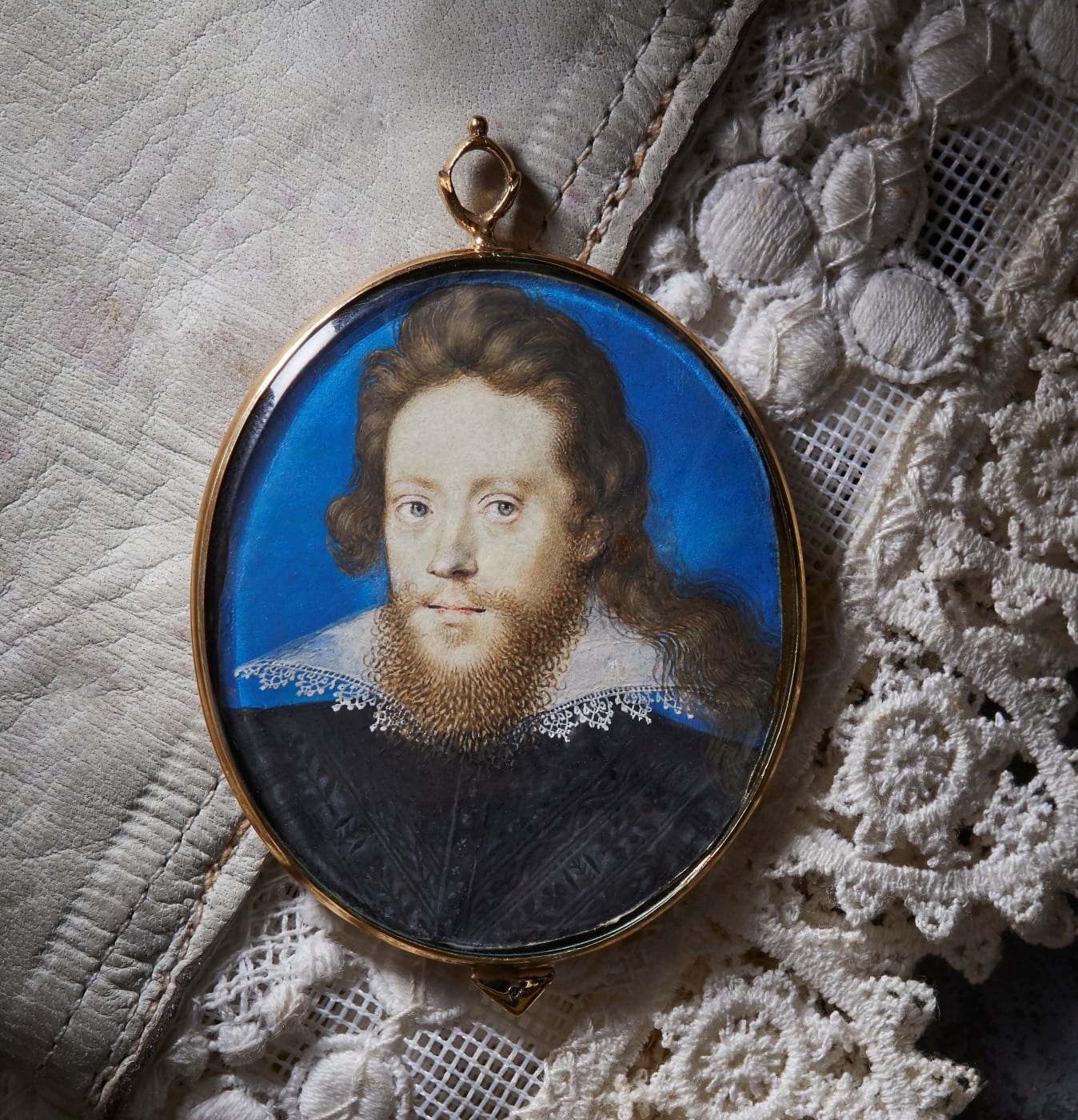 Portrait of a gentleman, isaac oliver