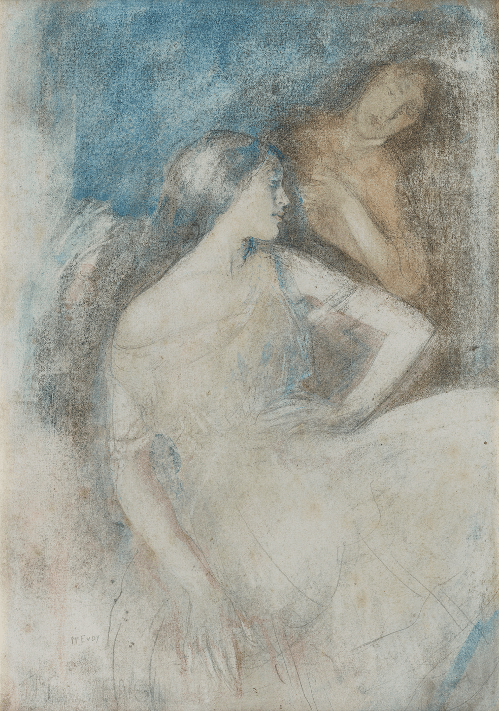 Ambrose McEvoy Study for the Dance