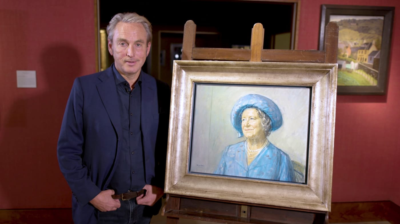 Philip Mould and Michael Noakes Portrait of Queen Mother