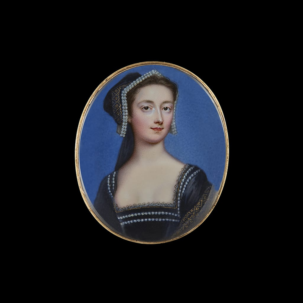 Portrait Miniature of Bluestocking member