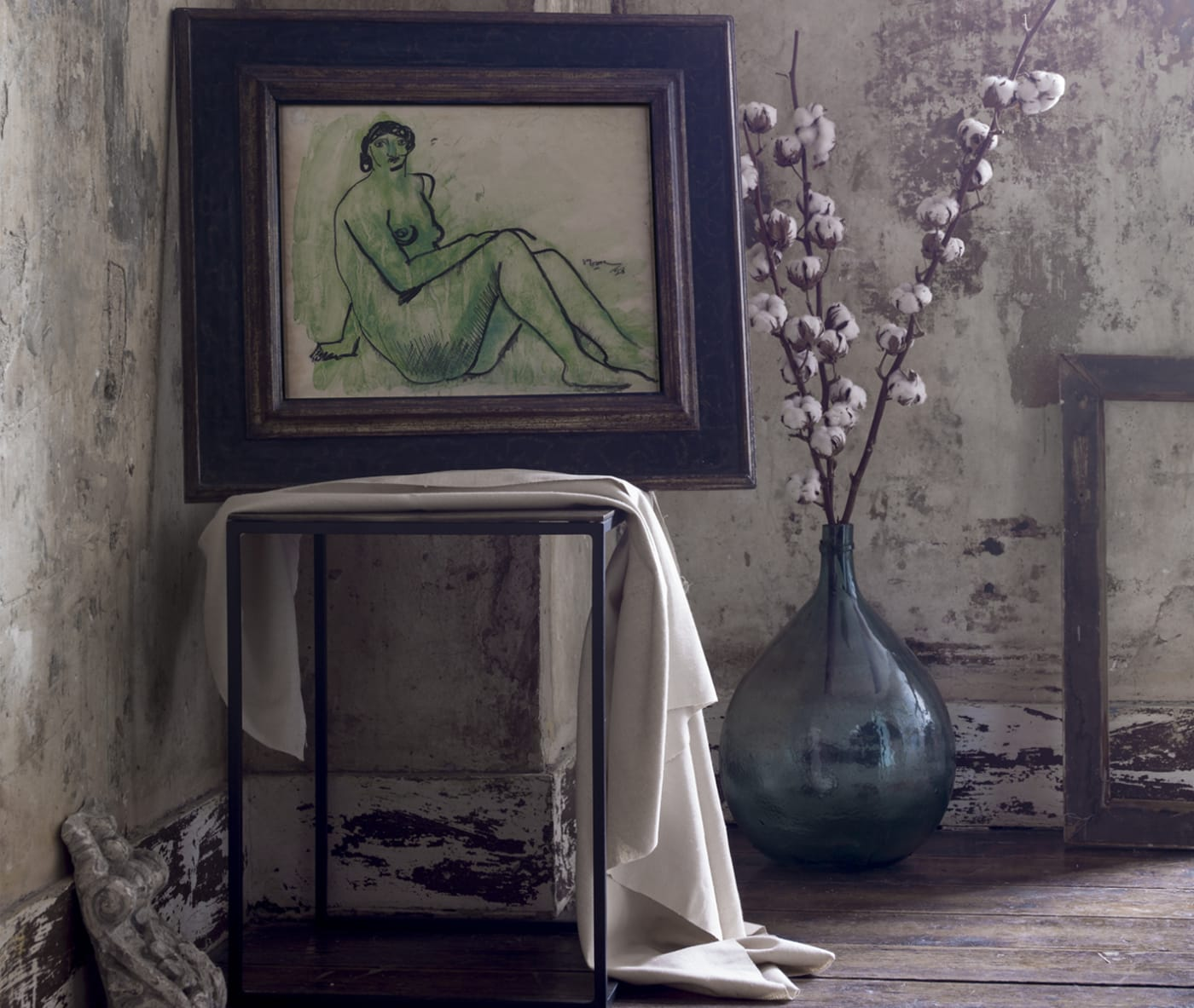 Henry Moore in interior