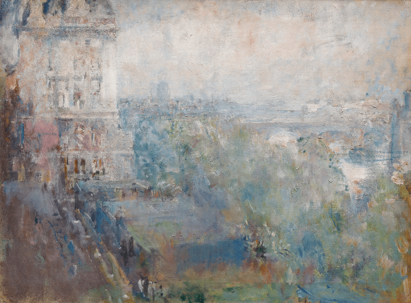 Ambrose McEvoy Thames from the Adelphi