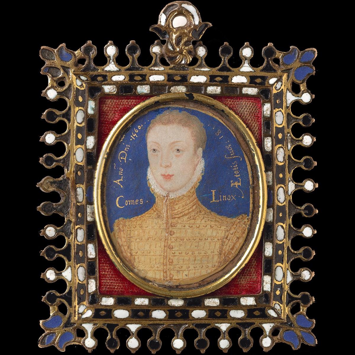 Portrait miniature framed