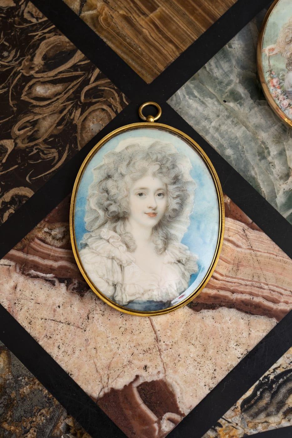 Duchess Georgiana by Richard Cosway