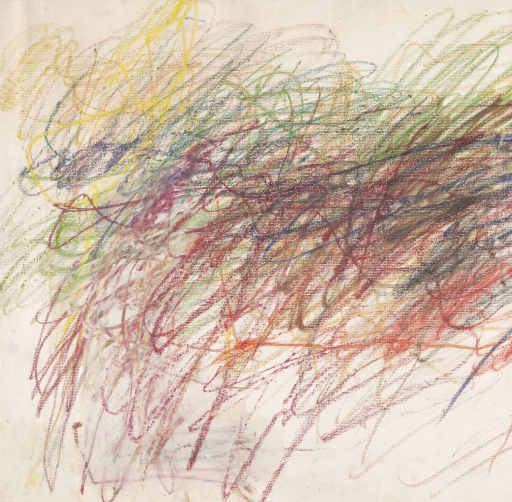 Cy Twombly Copyright MoMA