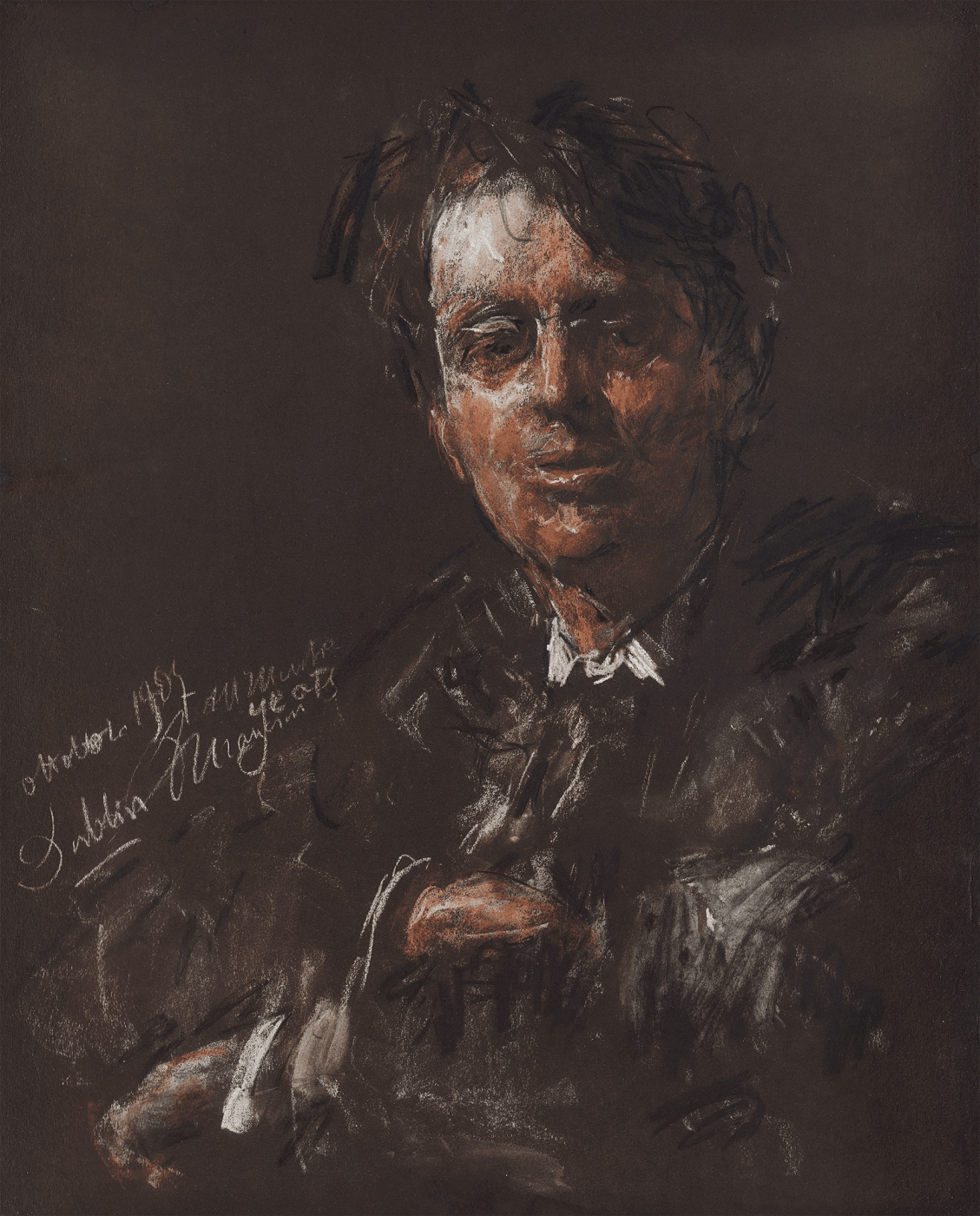 Mancini Portrait of Yeats