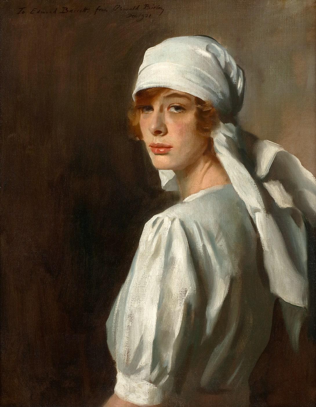 Oswald Birley The Nurse