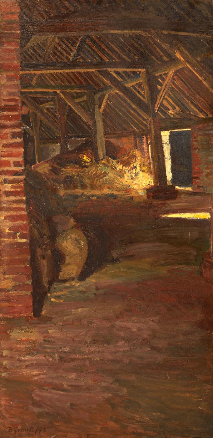 Duncan Grant Barn Interior