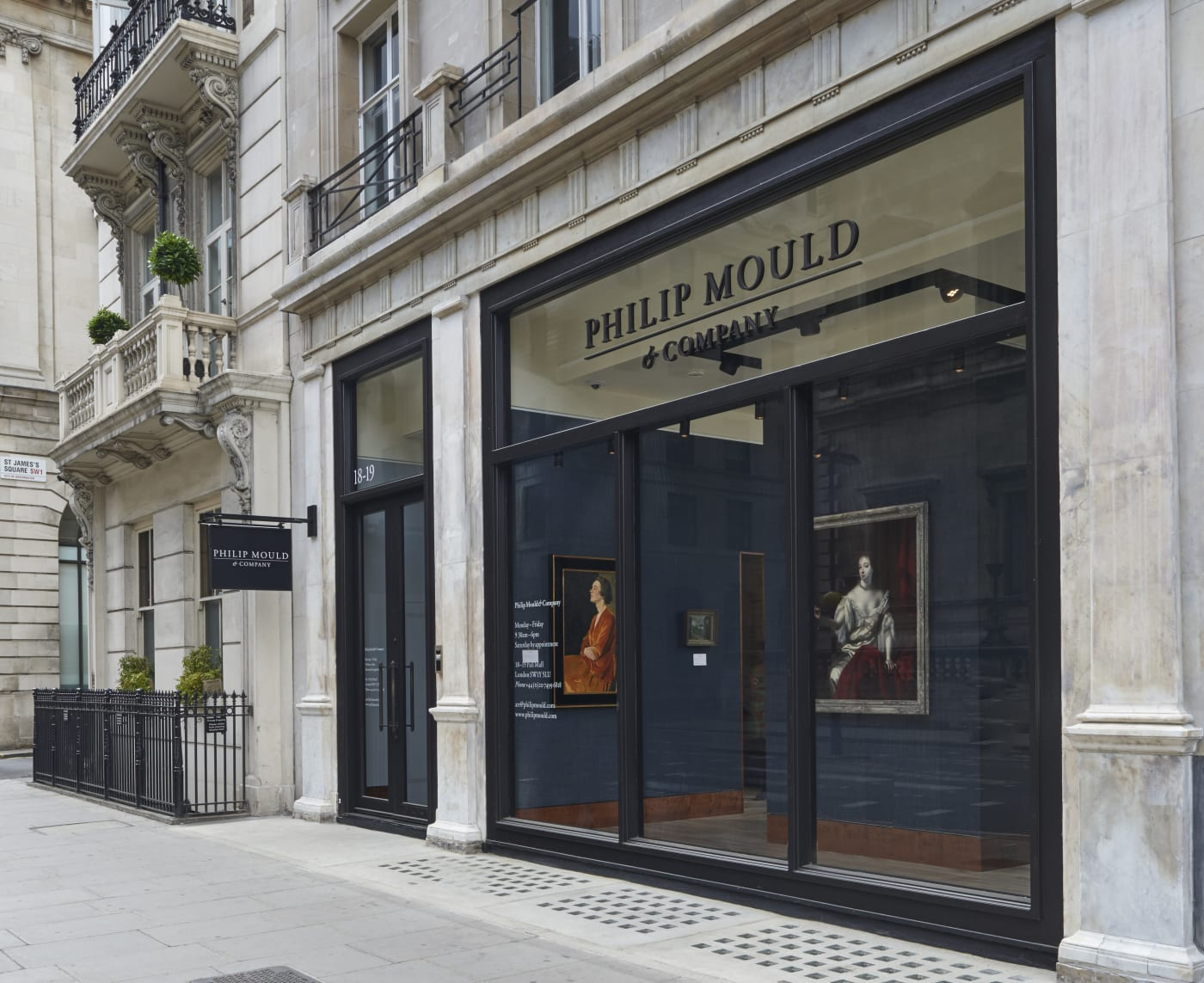 Philip Mould & Company 18-19 Pall Mall