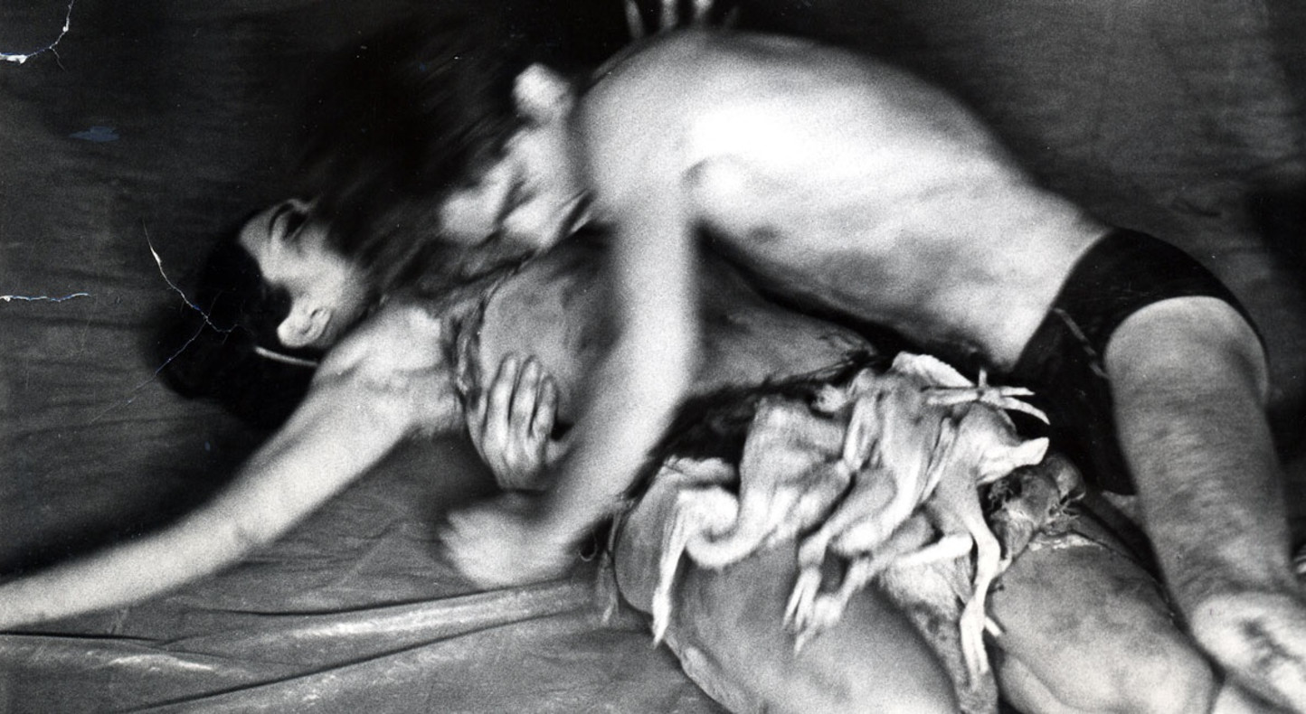 Carolee Schneemann, Meat Joy, 1964. Photograph: Al Giese, Judson Church NYC
