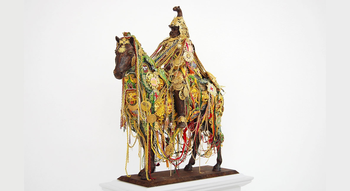 Hew Locke, 'Sikandar', 2010.