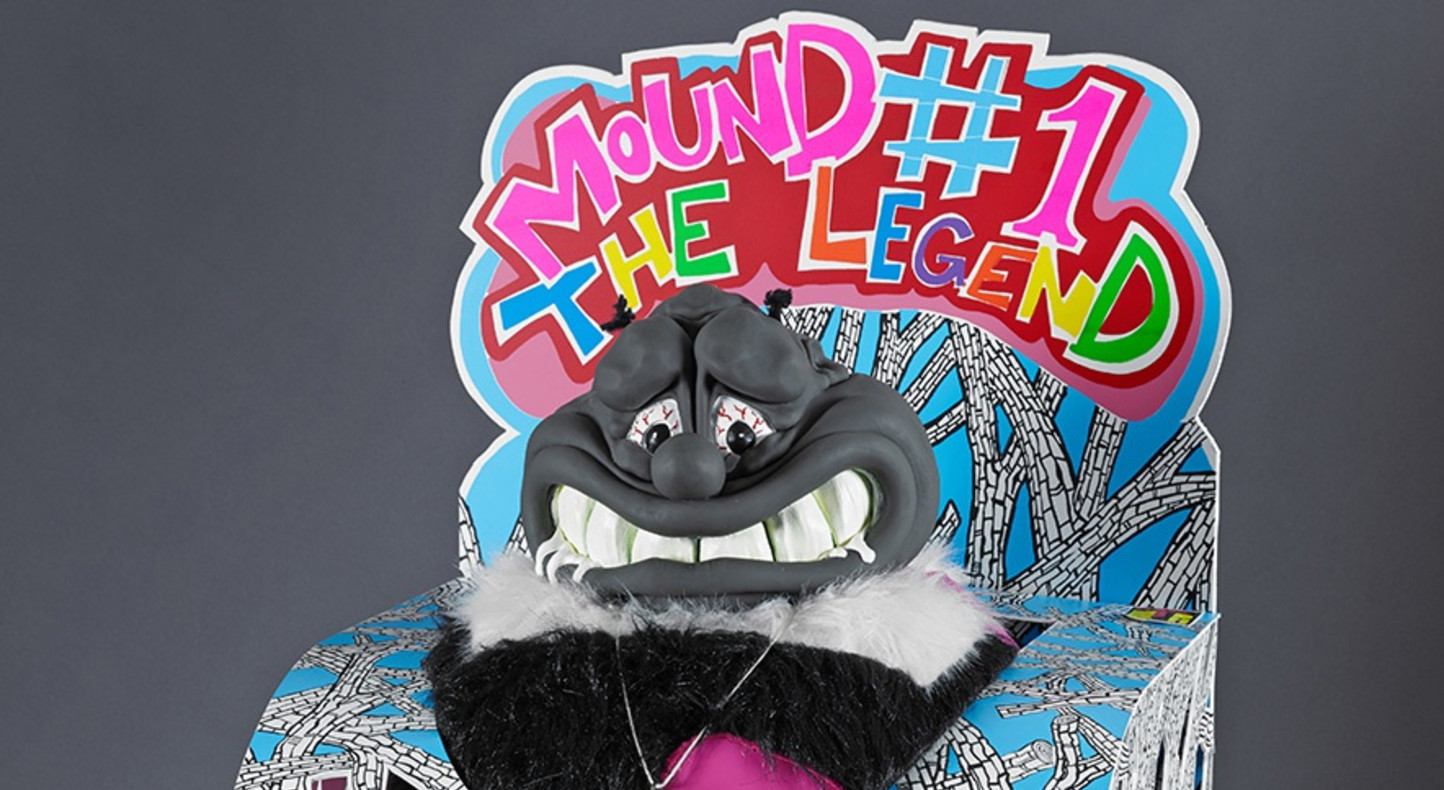 Trenton Doyle Hancock, 'Mound #1 the Legend', 2015. Courtesy of the artist and James Cohan, New York. Published by Graphicstudio, University of South Florida, Tampa, FL.