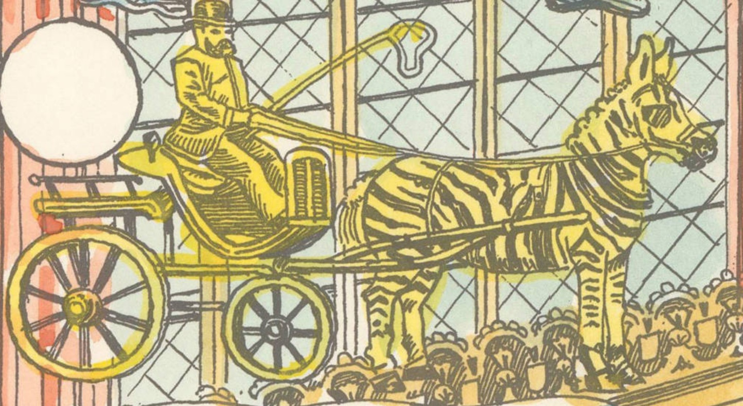 Adam Dant, Almanac titled: 'The Mother of Parliaments Annual Division of Revenue, A Print for The British Electorate', 2017 (detail)