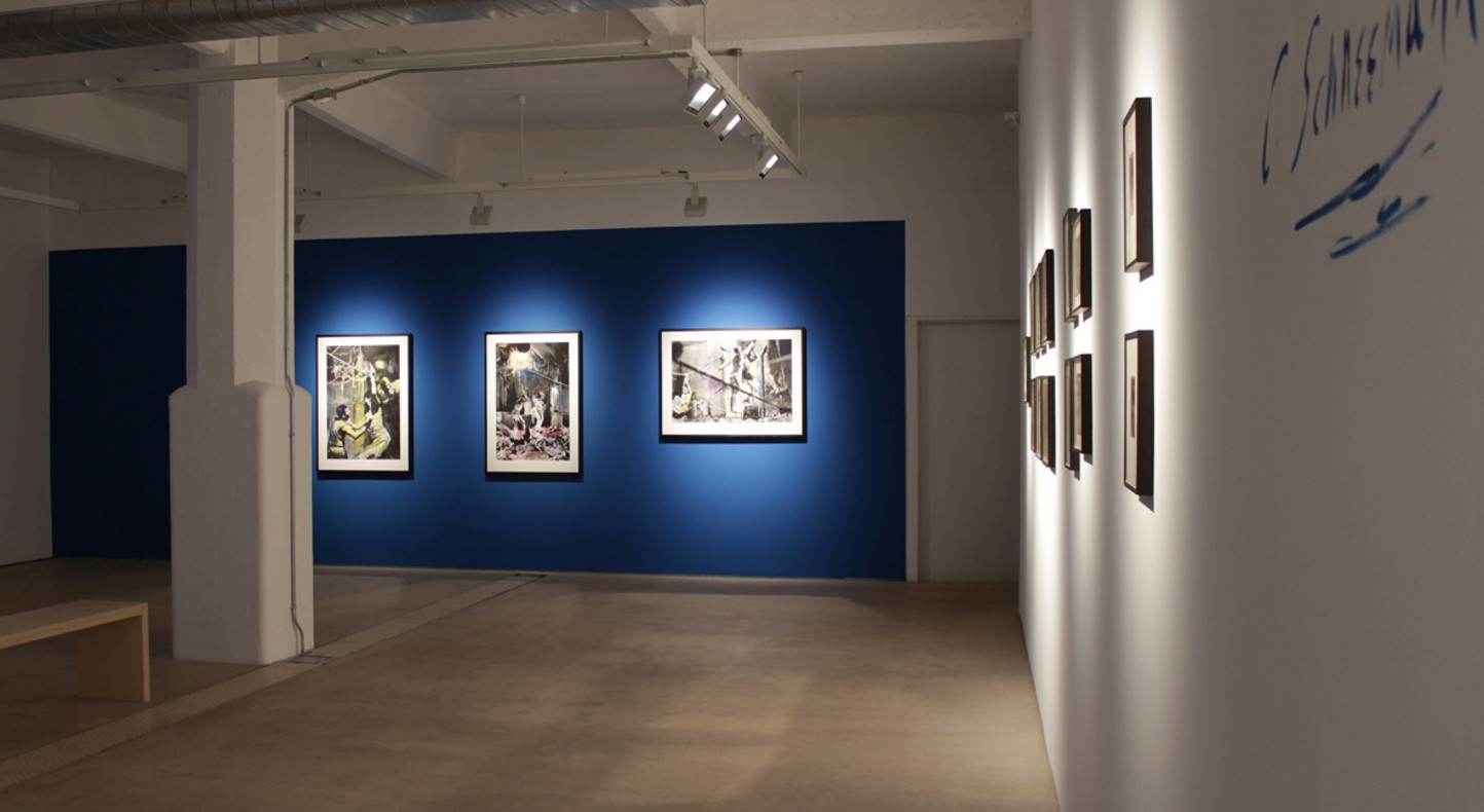 Carolee Schneemann, Water Light Water Needle, 2014, Hales Gallery