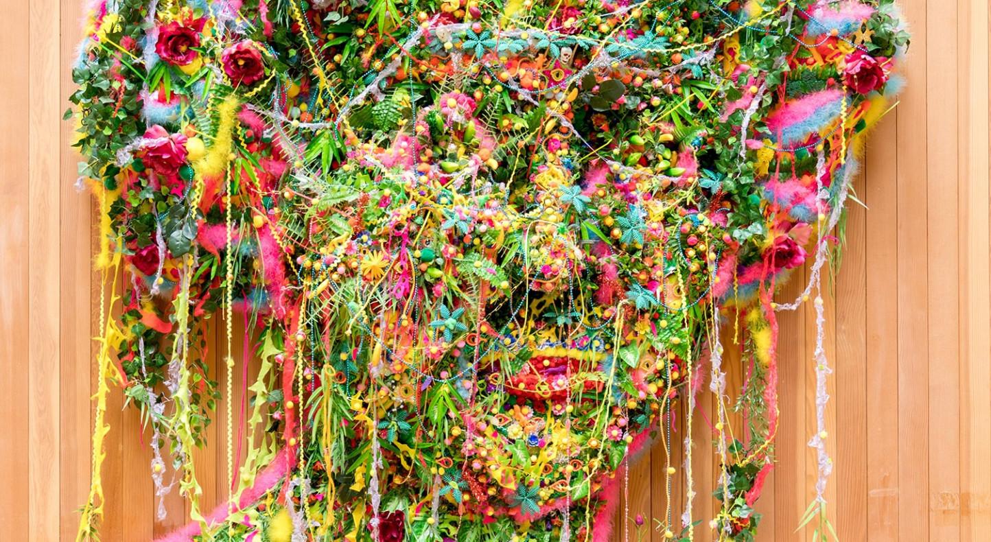 Hew Locke, Jungle Queen II, 2003, detail, Courtesy of New Art Gallery Walsall