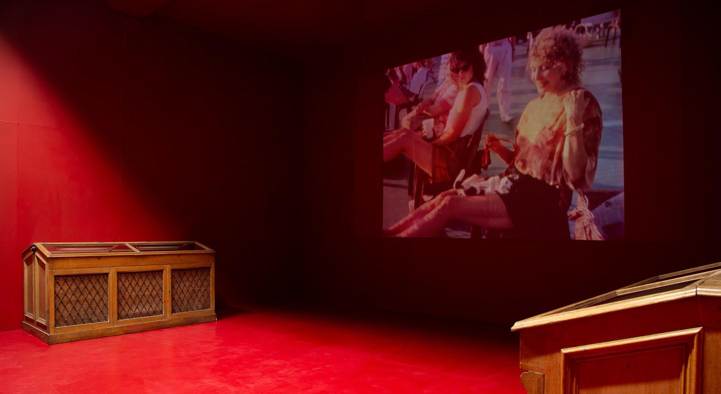 Carolee Schneemann, Free the Pussy, Installation view, Summerhall, Edinburgh, 2018. Photo by Cat Thomson