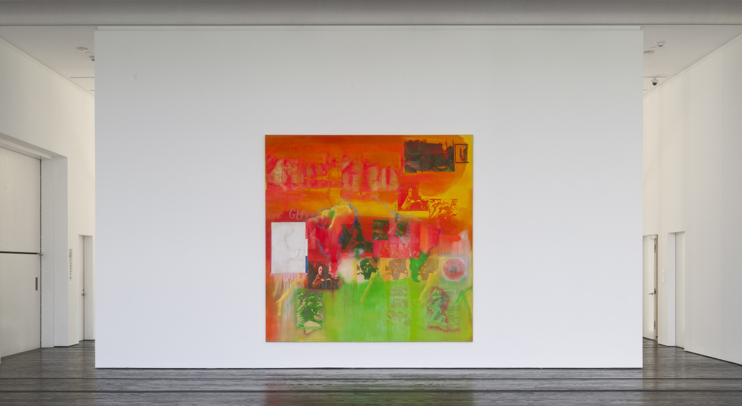 Frank Bowling, Middle Passage, 1970, The Menil Collection, Photo by Paul Hester