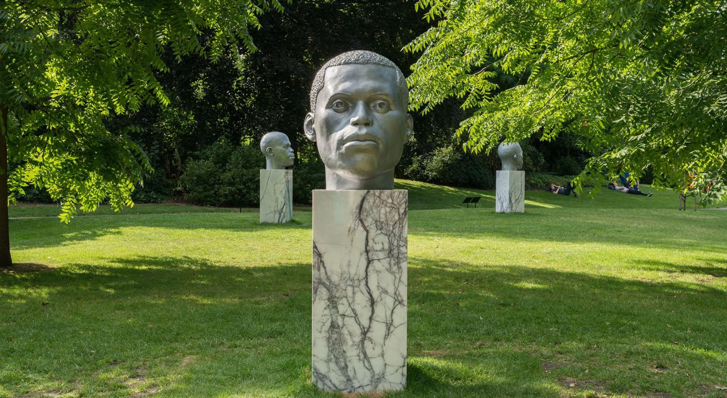 Thomas J Price, Frieze Sculpture Park, London 2017