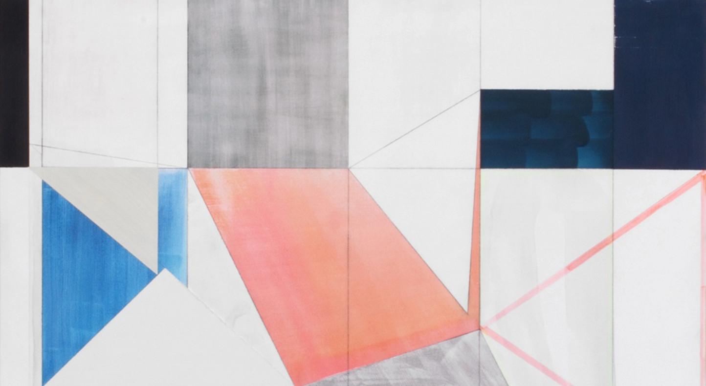Andrew Bick, OGVDS [Detail] E, 2012 (detail)