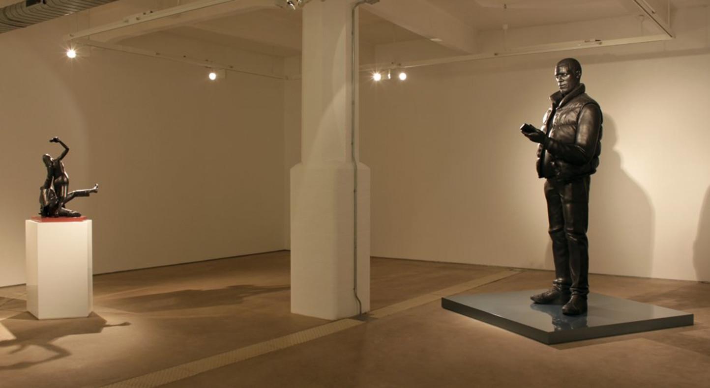 Tom Price, Ancient Systems. Installation view, Hales Gallery, 2013