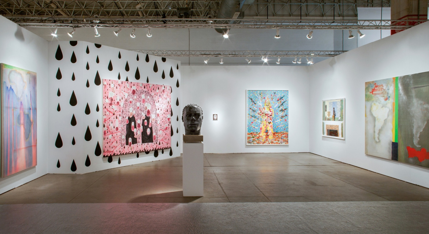 <p>Hales Gallery's booth at Expo Chicago 2014</p>