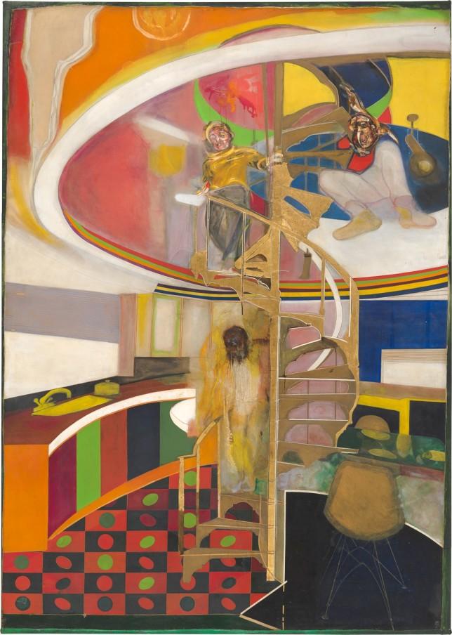 FRANK BOWLING, Mirror, 1964-66