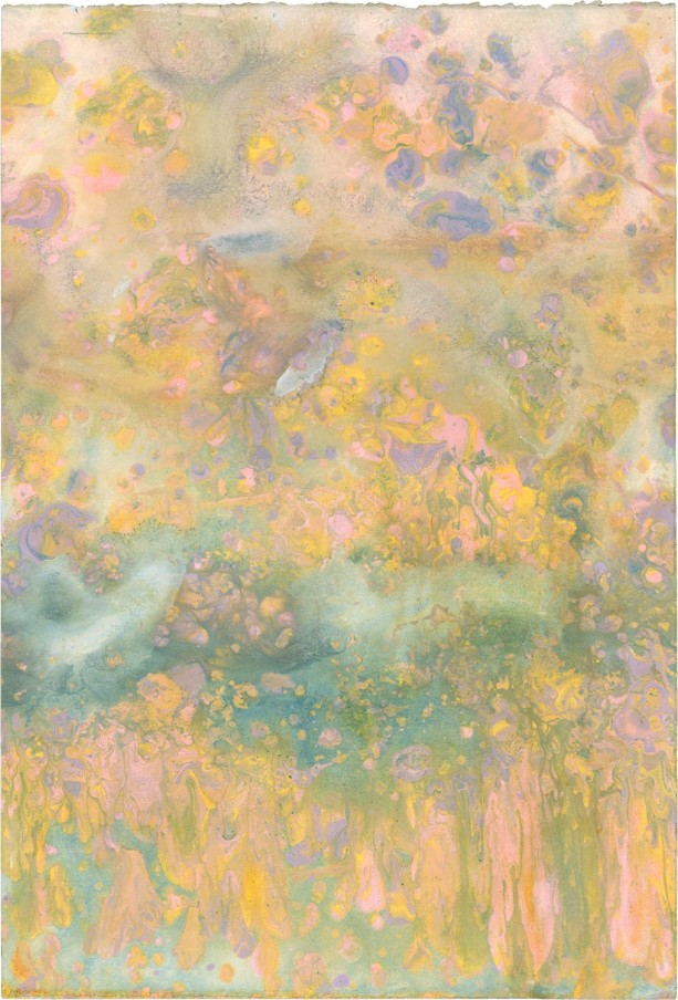 FRANK BOWLING, Autumn Flare, acrylic on paper, 1986