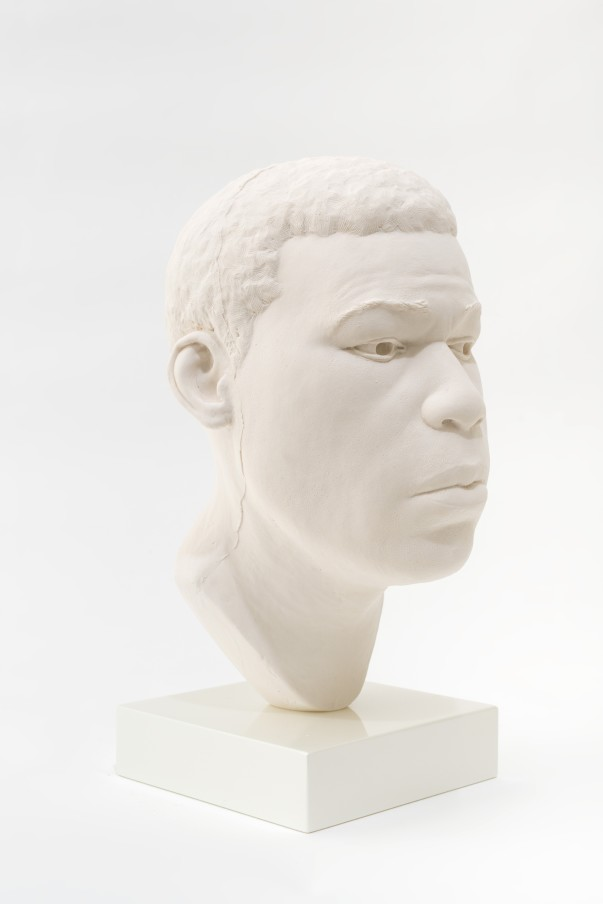 THOMAS J PRICE, Head 17, 2017, acrylic composite, Perspex and automotive spray paint, 21.5 x 12 x 14 cm, 8 1/2 x 4 3/4 x 5 1/2 in, Edition of 5 plus 1 artist's proof