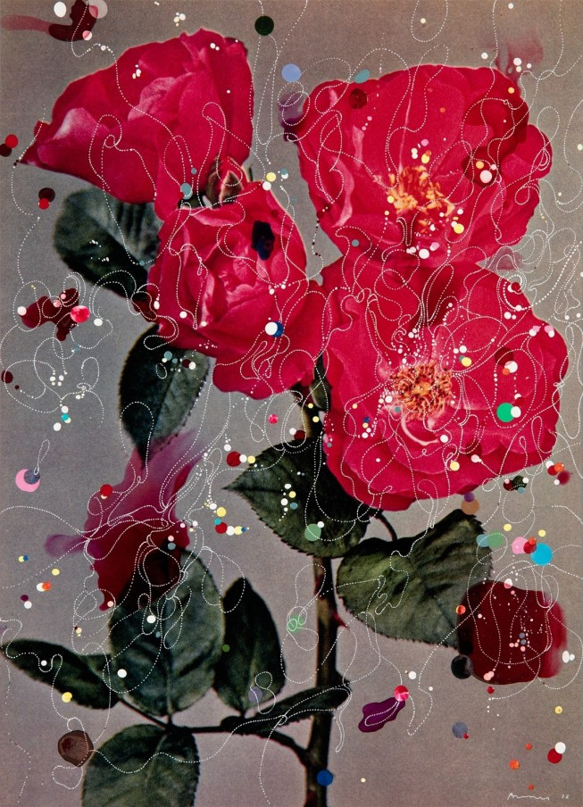 Sebastiaan Bremer Rose Anne-Mette Poulsen, 2016 Unique hand-painted chromogenic print with mixed media 39 x 28 cm 15 3/8 x 11 1/8 in Framed: 50 x 39 x 3.2 cm 19 3/4 x 15 3/8 x 1 1/4 in