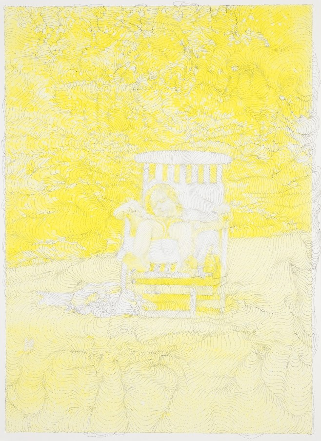 Sebastiaan Bremer Yellow Lead, 2017 Epson hot press matte paper with pigment ink 48.3 x 34 cm 19 x 13 3/8 in Framed: 56 x 43.3 x 3.7 cm 22 1/8 x 17 1/8 x 1 1/2 in