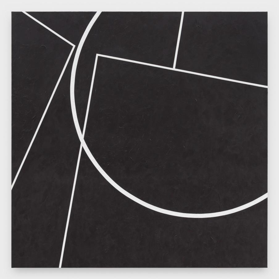 Virginia Jaramillo, Site: No. 3 51.1789° N, 1.8262° W, 2018 Acrylic on canvas, 182.9 x 182.9 cm, 72 x 72 in