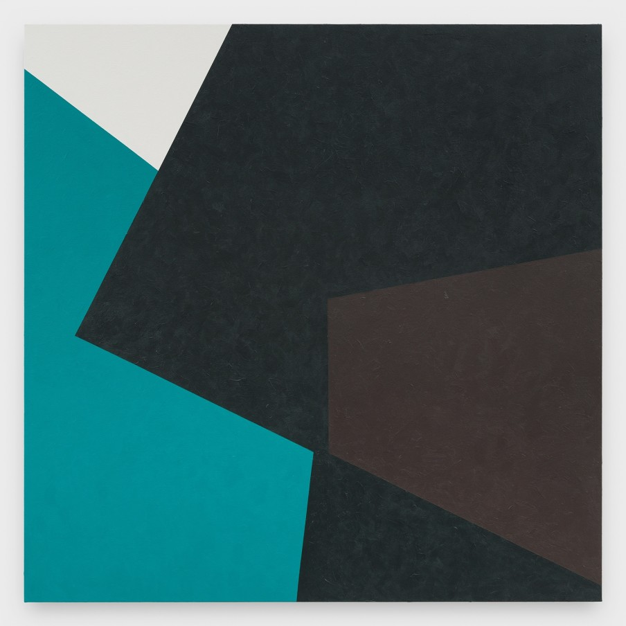 Virginia Jaramillo, Site: No. 15 13.5099° S, 71.9817° W, 2018 Acrylic on canvas, 182.9 x 182.9 cm, 72 x 72 in
