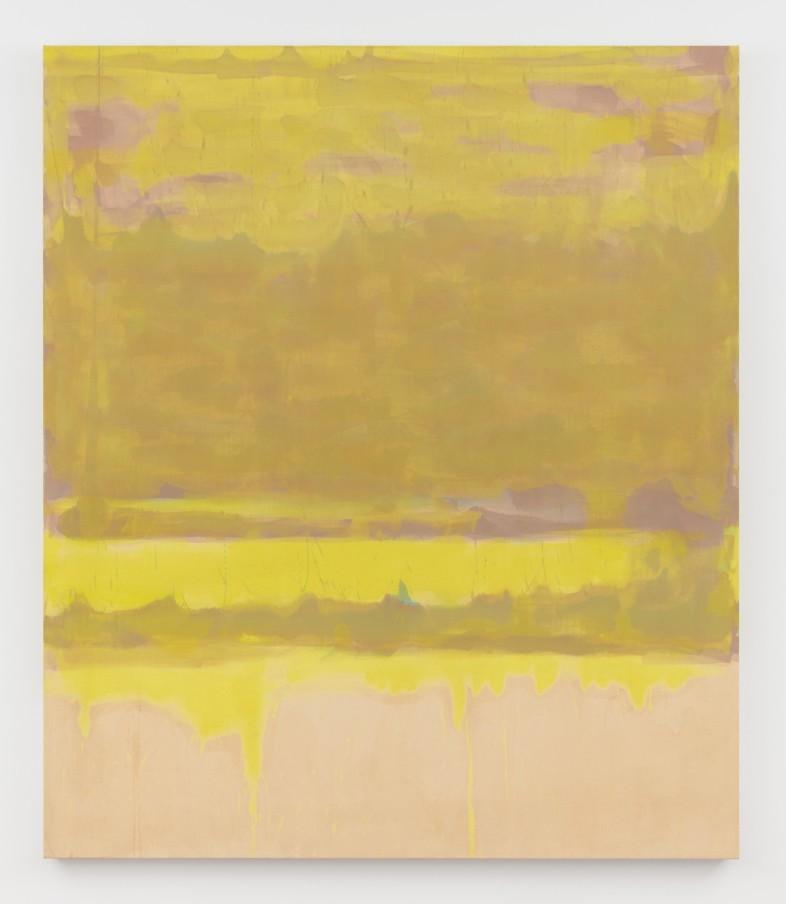 Virginia Jaramillo, Altotron, 1976, oil paint on canvas, 205.7 x 180.3 cm, 81 x 71 in