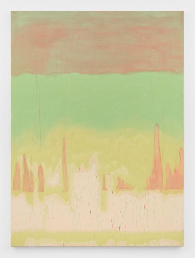 Virginia Jaramillo, Indo 3, 1975, oil on canvas, 228.6 x 167.6 cm, 90 x 66 in