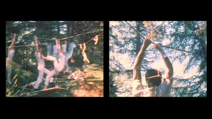 Water Light/Water Needle (Lake Mah Wah, NJ), 1966, 11:13 min, color, sound, 16 mm film on video, (film still)