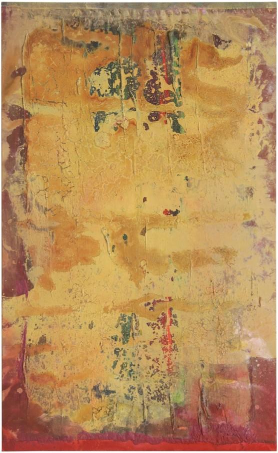 Normal 0 false false false EN-GB X-NONE X-NONE Frank Bowling, Bearly, 2013, acrylic on canvas, 130 x 80 cm