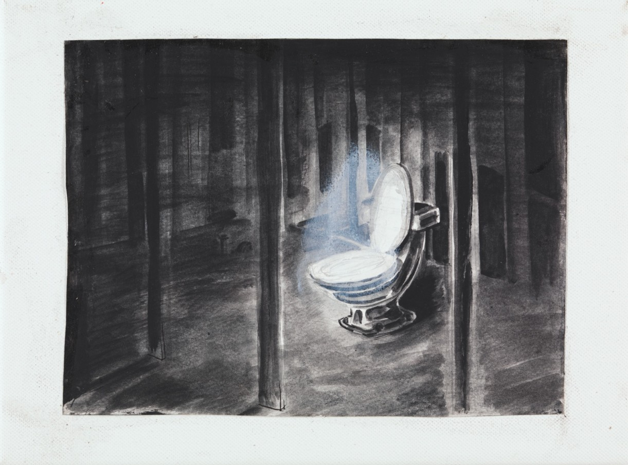 Trenton Doyle Hancock The Informant, 2013 acrylic and mixed media on canvas 22.9 x 30.5 cm 9 x 12 in