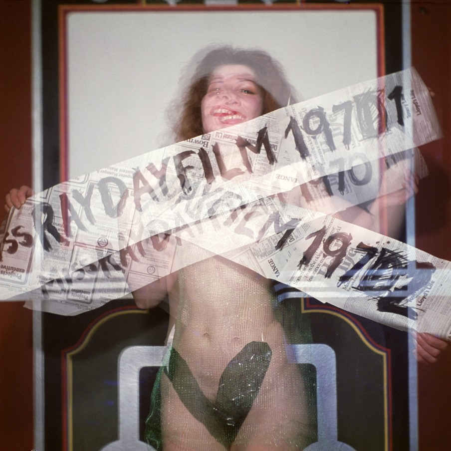 Jeff Keen, Miss Rayday Film, 1972/2016, chromogenic print, 95 x 95 cm, 37 3/8 x 37 3/8 in, editition of 4 plus 1 artist's proof