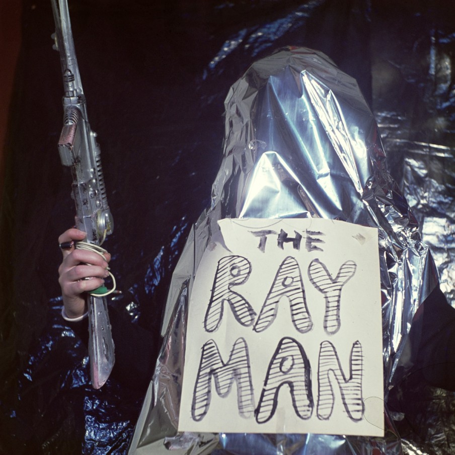 Jeff Keen, Jackie Keen as the RayMan, 1968-1976/2016, chromogenic print, 95 x 95 cm, 37 3/8 x 37 3/8 in, edition of 4 plus one artist's proof