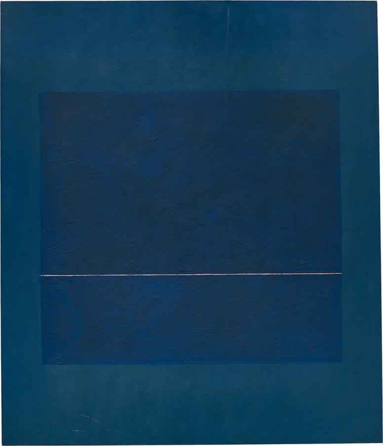 Virginia Jaramillo, Untitled, 1974, oil paint on canvas, 208.3 x 177.8 cm, 82 x 70 in