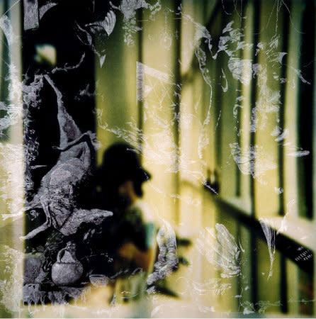 Self Portrait in Studio with Window, 2006, India ink and acrylic on c-print mounted on aluminium, 188 x 188 cm
