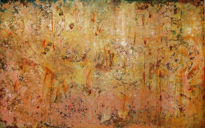 Frank Bowling, Serpentine, 1982, Acrylic on Canvas, 171 x 274 cm