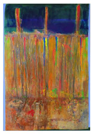Iona's Prompt, 2011, Acrylic on canvas, 281.9 x 190.5 cm
