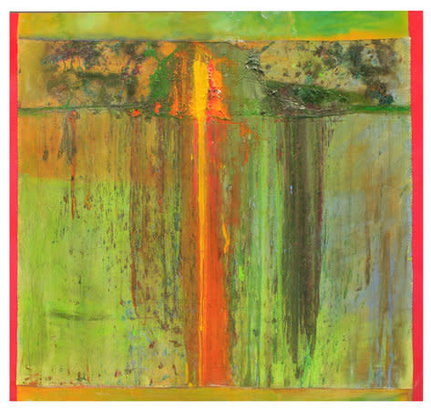 Simonspoint, 2011, Acrylic on canvas, 180.3 x 190.5 cm