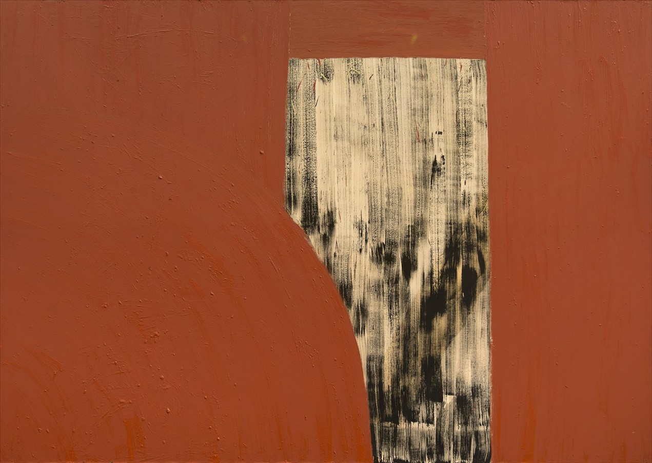 Basil Beattie Hinterland, 1993 oil and wax on canvas 259 x 365 cm 102 x 143 3/4 in