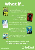 School Library Pack 2016-17 Reluctant Reader titles poster