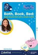 Bath, Book, Bed 2017 empty belly poster
