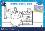Bath, Book, Bed 2017 colouring sheet